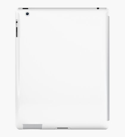 silhouette Boxing gloves (W) iPad Case/Skin