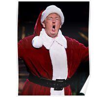 Donald Trump Santa Claus Poster