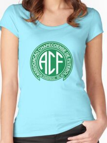 Chapecoense Football Club Women's Fitted Scoop T-Shirt