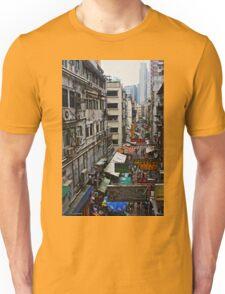 Hong Kong streets Unisex T-Shirt