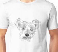 Sweeet Schnauzer ~ Black and white Unisex T-Shirt