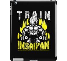 TRAIN INSAIYAN (Vegeta Lifting Dumbbells) iPad Case/Skin