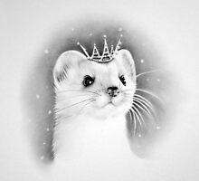 Snow Queen by IleanaHunterArt