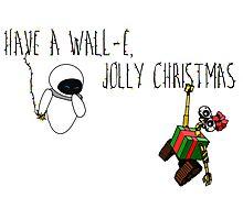Wall-E, Jolly Christmas Photographic Print