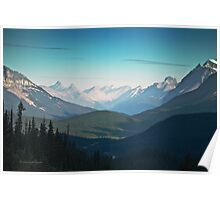 Valley, Banff National Park - Canadian Rockies - Alberta Poster