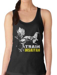 TRAIN INSAIYAN (Goku Hardcore Squat) Women's Tank Top