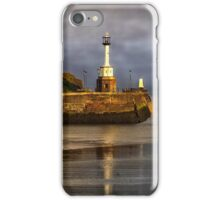 Early Morning At Maryport Harbour iPhone Case/Skin