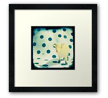 Look at ewe Framed Print