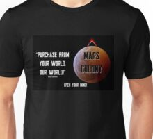 Mars Colony - Total Recallesk (2) Unisex T-Shirt