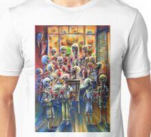 Skeleton Wine Party Unisex T-Shirt
