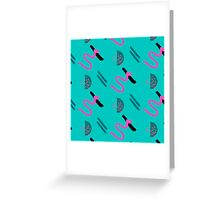 Abstract brush stroke Greeting Card