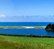 Loe Bar Cornwall by kathleenjean