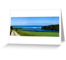 Loe Bar Cornwall Greeting Card