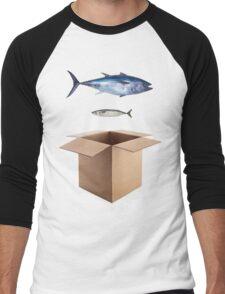 Big Fish, Little Fish Dance Moves Men's Baseball ¾ T-Shirt