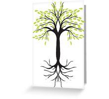 tee tree  Greeting Card