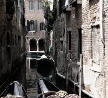 Two Gondolas - Venice, Italy Sticker