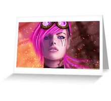 League Of Legends - Vi Greeting Card