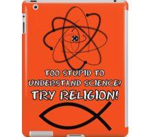 Funny atheist iPad Case/Skin