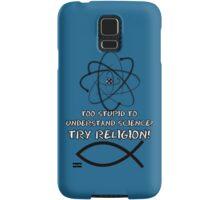 Funny atheist Samsung Galaxy Case/Skin