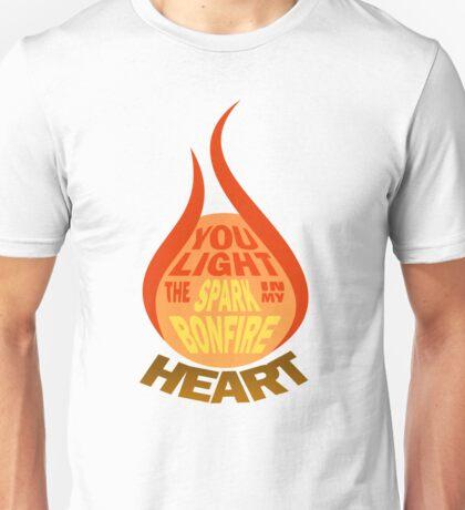 James Blunt - Bonfire Heart Unisex T-Shirt