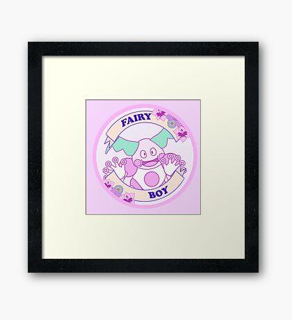 Fairy Boy Framed Print