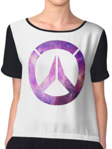 Overwatch Logo - Galaxy Chiffon Top