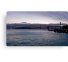 Early Morning Bay Bridge Canvas Print
