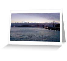 Early Morning Bay Bridge Greeting Card