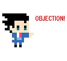 Objection 8 bits Photographic Print