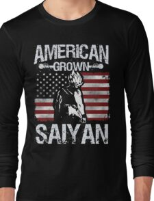 American Grown Saiyan Long Sleeve T-Shirt