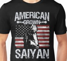 American Grown Saiyan Unisex T-Shirt