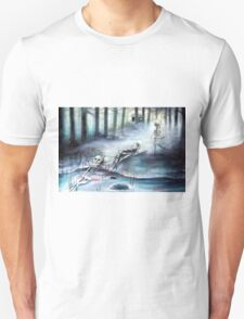 'Buried in the Woods' by artist Heather Calderon T-Shirt