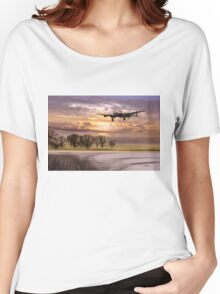Morning return: Lancasters at sunrise Women's Relaxed Fit T-Shirt