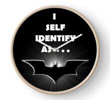 I self Identify as a... BATS Clock