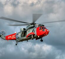 Royal Navy Search and Rescue Sea King Helicopter by © Steve H Clark Photography