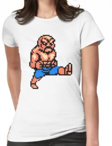 Abobo T-shirt Womens Fitted T-Shirt