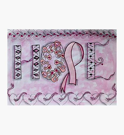 Hope (Breast Cancer Awareness) Photographic Print