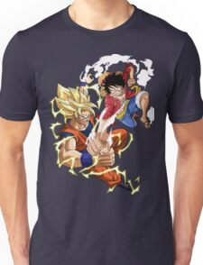 Goku VS Luffy Unisex T-Shirt