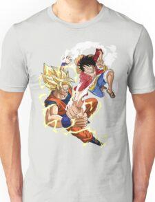 Goku VS Luffy Unisex T-Shirt