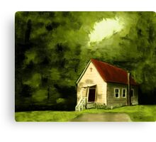 """Country Church 1""... prints and products Canvas Print"