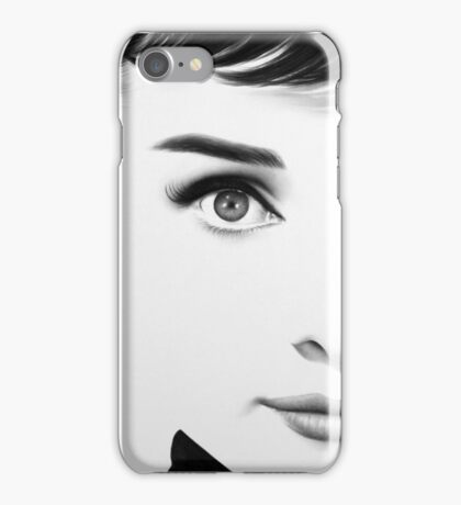 The Half Series. Audrey Hepburn iPhone Case/Skin