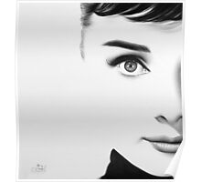 The Half Series. Audrey Hepburn Poster