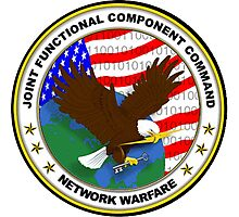 Joint Functional Component Command for Space (JFCC) Logo Photographic Print