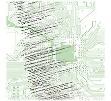 Linux Kernel CPU Photographic Print