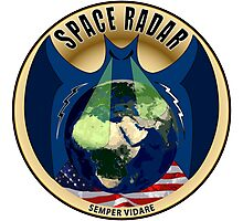 Space Based Radar Logo Photographic Print