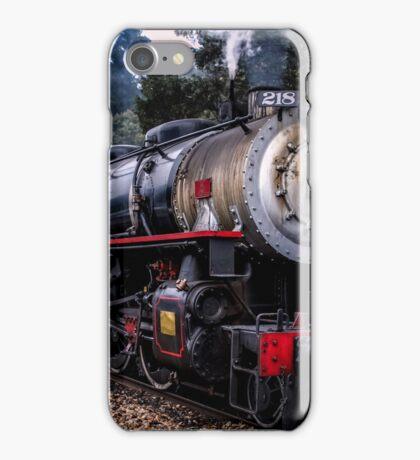 218 steam engine iPhone Case/Skin