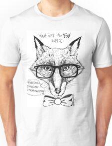 Smarty Fox Unisex T-Shirt