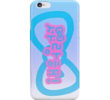 I love You Korean Version 1 iPhone Case/Skin