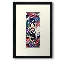 Modern Totem Pole Framed Print