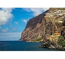House on the Cliff - Travel Photography Photographic Print